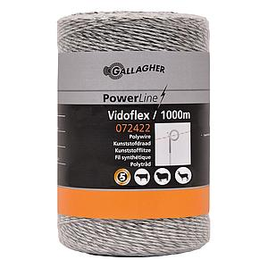 Vidoflex 6 PowerLine wit 1000m