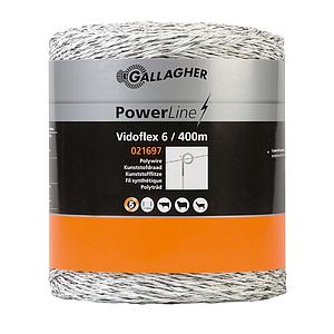 Vidoflex 6 PowerLine wit 400m